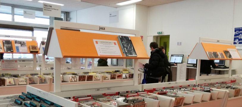 A la bibliothèque municipale de la Part-Dieu, 1.000 vinyles et des platines peuvent désormais être empruntés.