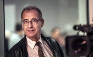 Le chef des élus FN au conseil régional Nord-Pas-de-Calais-Picardie,  Philippe Eymery, le 9 décembre 2015 à Lille