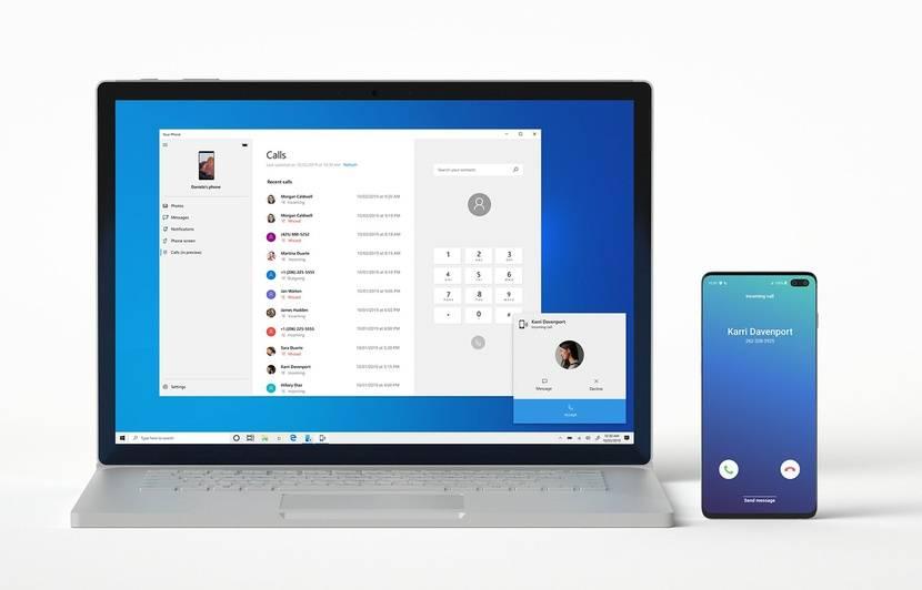 L'application Your Phone de Microsoft permet de répondre à des appels sur son PC