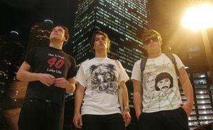 Tête d'affiche de la grande scène du palais Nikaïa, les british boys du groupe Metronomy.