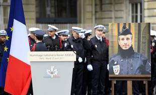 Xavier Jugelé a été tué le 20 avril 2017 sur les Champs-Elysées.