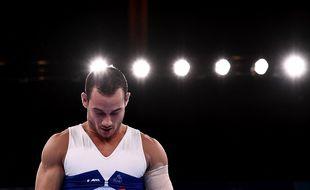 Samir Aït Saïd, inconsolable 4e aux anneaux lors des JO de Tokyo 2021.
