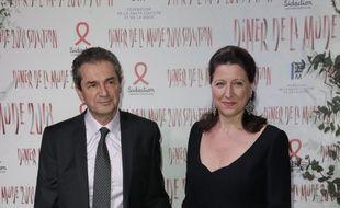 Yves Lévy et Agnès Buzyn.