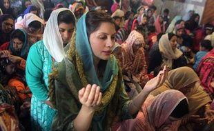 Une femme au Pakistan.