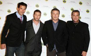 Les frères William, Stephen, Alec et Daniel Baldwin.