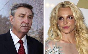 Jamie Spears en 2012 et sa fille Britney Spears en 2017 (illustration).
