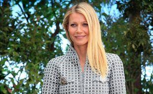 Gwyneth Paltrow avant la défilé Chanel le 26 janvier à Paris