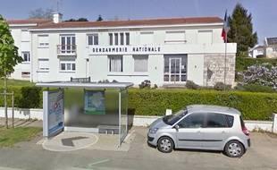 La gendarmerie d'Oudon, où les parents des deux adolescents ont porté plainte.
