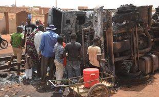 L'explosion d'un camion citerne au Niger, le 6 mai 2019.