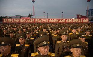 L'Armée populaire de Corée (APC) en septembre 2017