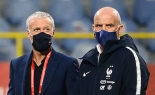Didier Deschamps et son adjoint Guy Stéphan pourront sélectionner 26 joueurs pour l'Euro qui débute le 11 juin 2021.