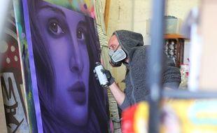 Aero est l'un des noms du street-art les plus connus à Rennes.