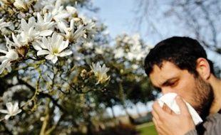 La saison des allergies aux pollens a commencé.