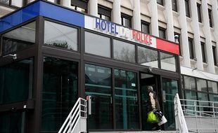L'hôtel de police à Grenoble.