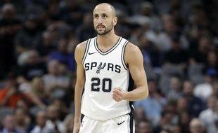 Le joueur des San Antonio Spurs Manu Ginobili a annoncé sa retraite à 41 ans, le 27 août 2018.