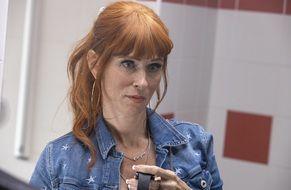 Audrey Fleurot incarne Morgane Alvaro, l'héroïne de « HPI ».