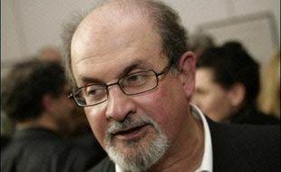 L'écrivain britannique Salman Rushdie.