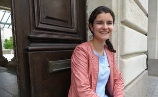 Elise, 17 ans, a obtenu 18,3 de moyenne générale au bac S