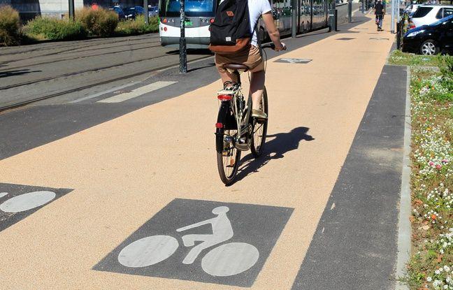 Nantes: L'axe cyclable Nord-Sud va être prolongé le long de l'Erdre, des travaux jusqu'à cet été