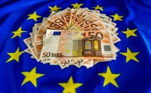 Le billet de 50 euros, dans sa forme actuelle.