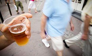 Au centre de Toulouse, il est interdit de boire de l'alcool dans la rue, de 16h à 6h