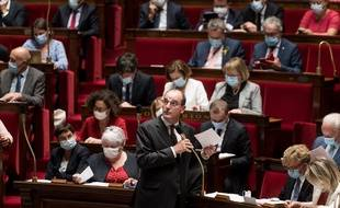 Jean Castex à l'Assemblée, le 15 septembre 2020.