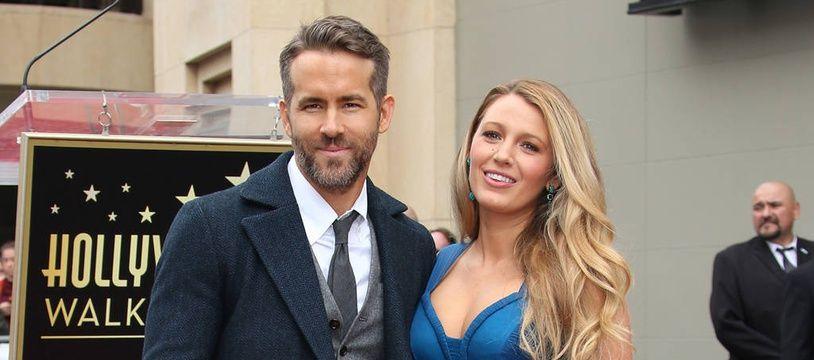 Les acteurs Ryan Reynolds et Blake Lively