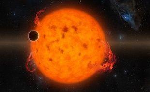 L'exoplanète K2-33 b a été formée il y a seulement 11 millions d'années.