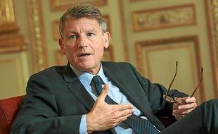Vincent Peillon, ministre de l'Education nationale, photographié le 31 août 2012 au ministère de l'Education nationale.