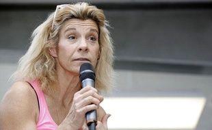 Frigide Barjot, porte-parole du collectif «Manif pour tous»
