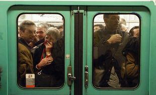 Le métro à Paris. (Illustration)