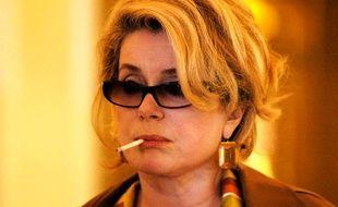 La carrière «alcool et cigarettes» de Catherine Deneuve