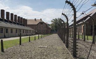 Le mémorial d'Auschwitz-Birkenau, en Pologne, photographié le 9 août 2016.