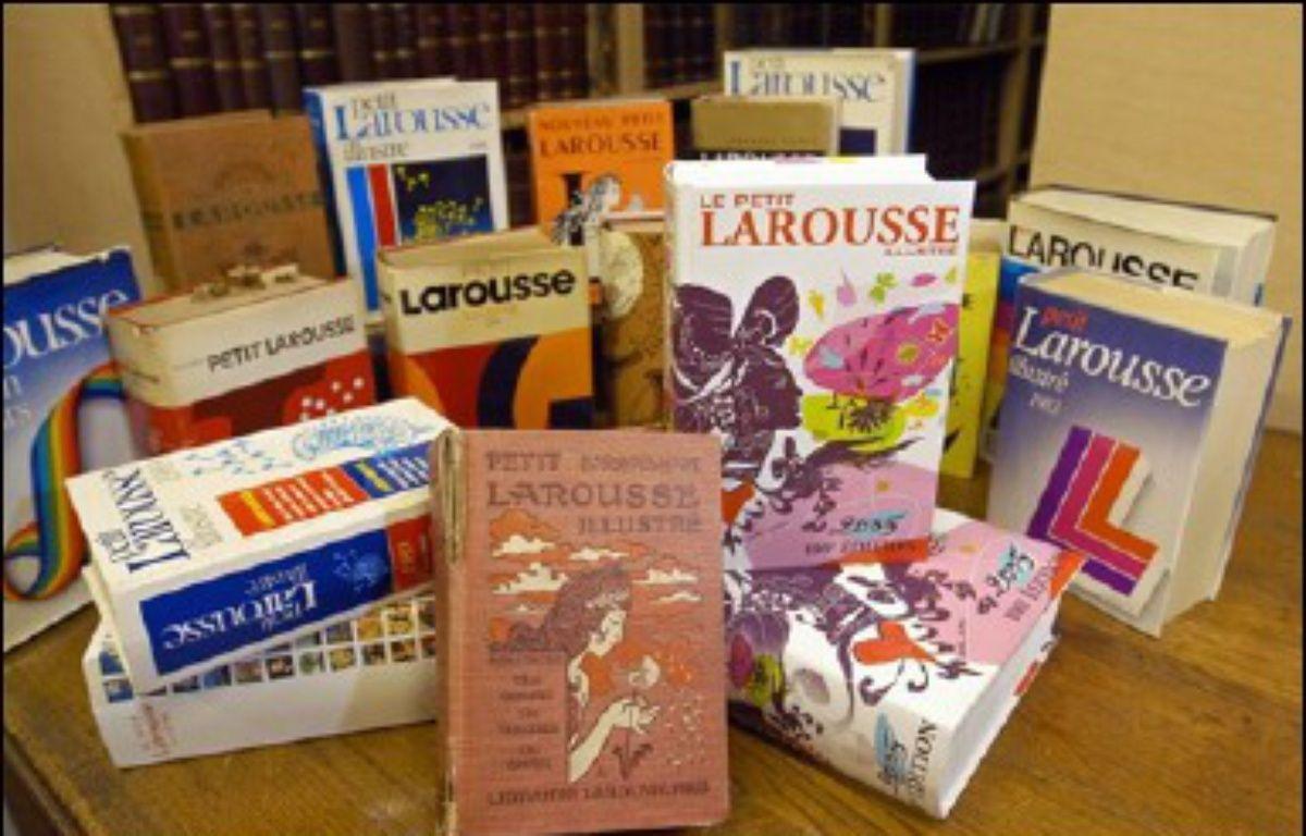 """Etre édités à 16 ou 17 ans et même à 11 ans seulement, et l'être chez Larousse, ce n'est pas un rêve mais la réalité pour trois classes de collégiens et lycéens, lauréates d'un concours scolaire, """"Faites des livres"""", dont les réalisations viennent d'être publiées. – Stéphane  de Sakutin AFP/Archives"""