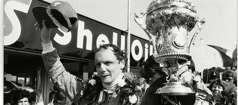 Niki Lauda au Grand Prix de Brands Hatsch en 1982