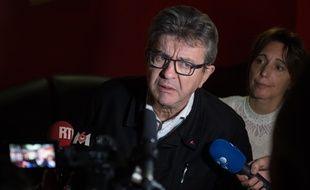 Jean-Luc Mélenchon en novembre 2019 à Marseille