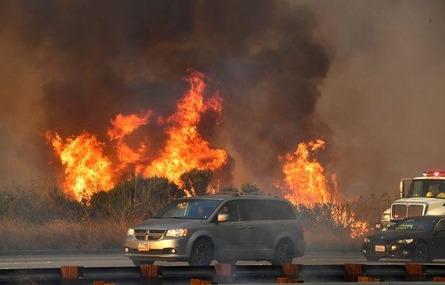 nouvel ordre mondial | VIDEO. Les incendies s'étendent à travers la Californie, attisés par des vents furieux