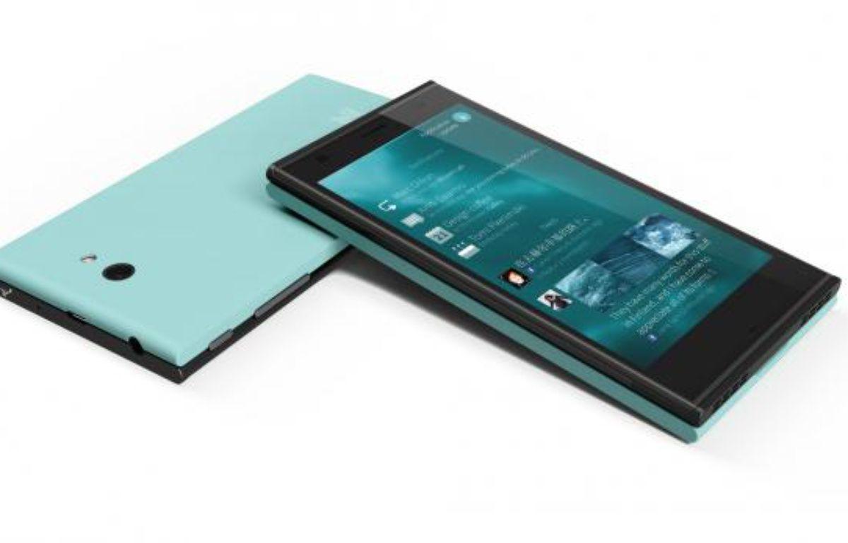 Jolla, un smartphone qui tourne sous Sailfish OS. – JOLLA