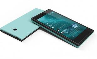 Jolla, un smartphone qui tourne sous Sailfish OS.