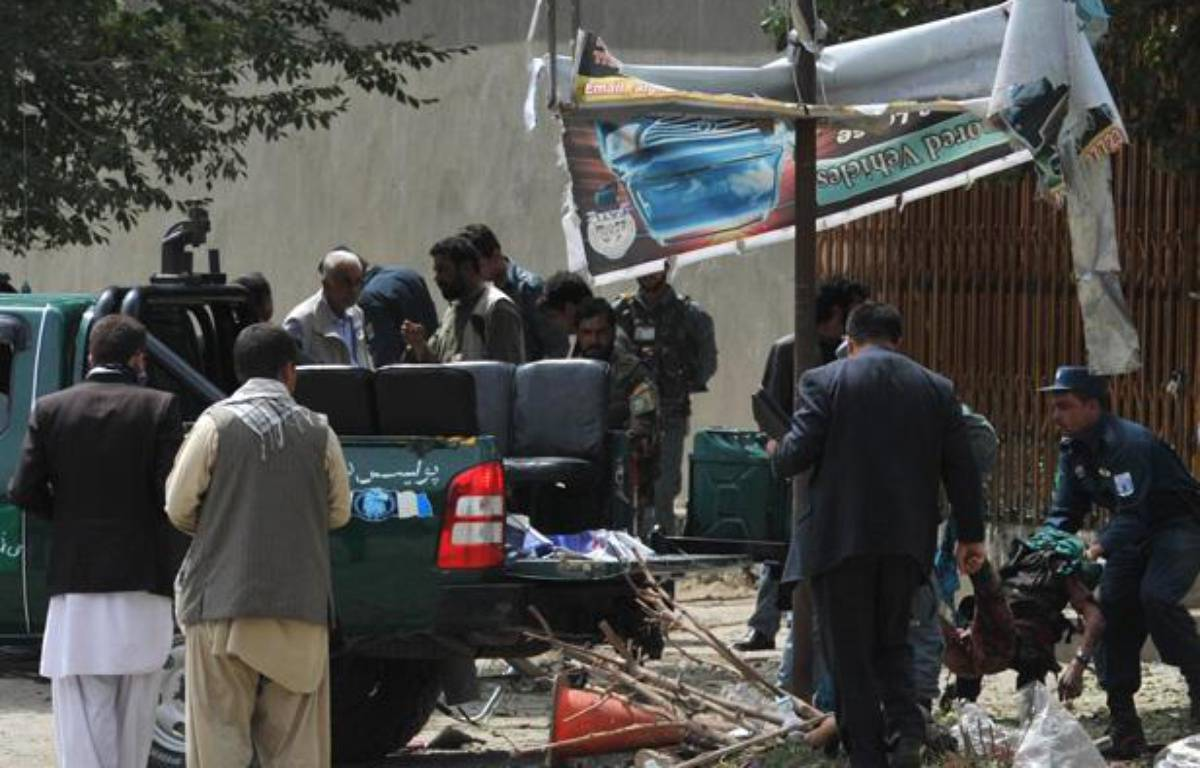Attentat à Kaboul ce samedi 8 septembre 2012 – AFP