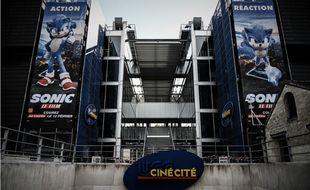 Un cinéma UGC ciné cité fermé en raison de la crise sanitaire.