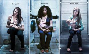 """La campagne pour l'allaitement """"When nurture calls""""."""
