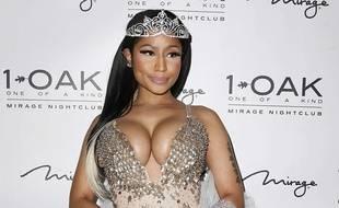 Nicki Minaj à Las Vegas, le 30 octobre 2015.