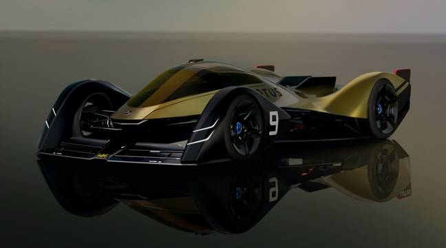 Lotus présente la voiture de course d'endurance de demain