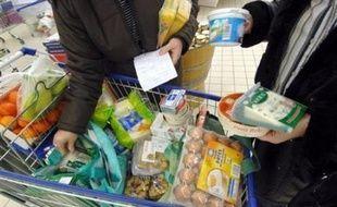 """Le gouvernement a lancé mardi, avec le commencement d'une enquête sur le terrain, son opération """"coup de poing"""" contre les hausses de prix des produits alimentaires, le président Nicolas Sarkozy promettant de """"porter le fer là où ça fait mal""""."""