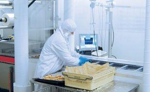 La technologie ne refroidit que le poste de travail où sont placés les aliments.