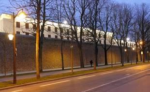 La prison de la Santé à Paris, où était incarcéré Alexandre Benalla.