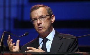 Alain Weill, président du groupe NextRadioTV (BFM, RMC, BFM TV...), le 2 septembre 2011 au Musée du Quai Branly.