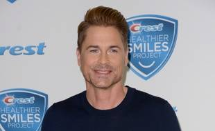 L'acteur Rob Lowe à l'Innovation Loft de New York, le 29 septembre 2016.