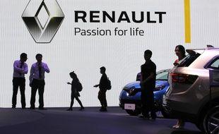 Illustration du groupe Renault.
